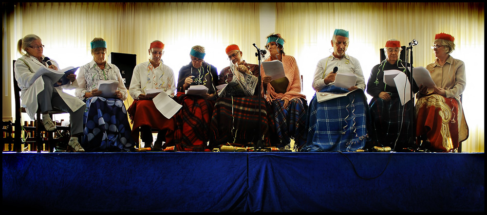 Drama Group presentation at AGM on 5th December 2011